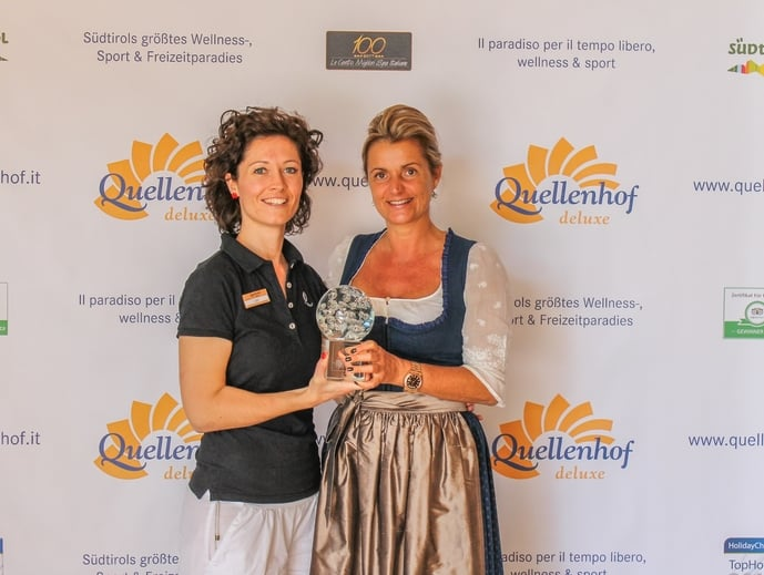 """SPA BUSINESS AWARD"" geht an ... das Sport & Wellness Resort Quellenhof"